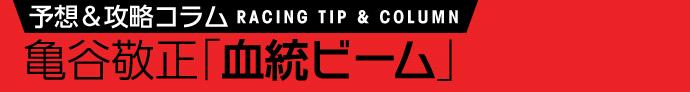 ダート短距離注目種牡馬リスト 1月7日(土)/亀谷敬正 血統ビーム
